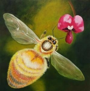 Eddy_deborah_Australia_To Bee or not to Bee_Acrylic on canvas_2016