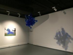 Feminist Alien. 2015. Detail from Feminist Alien installation